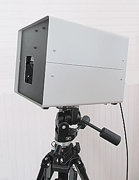 Teletherm               infrared thermal imager on tripod